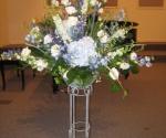 blue-white-church-stand
