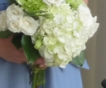 white-hydrea-and-rose-bridesmaid