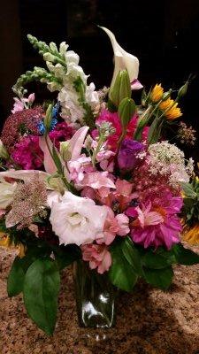 Feminine Garden Bouquet