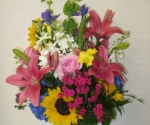 Colorful Bouquet to Celebrate Life