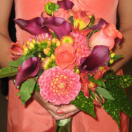 Tropical wedding with a twist
