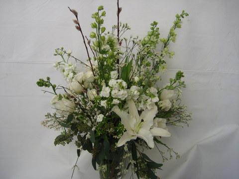 Serene Sympathy Vase
